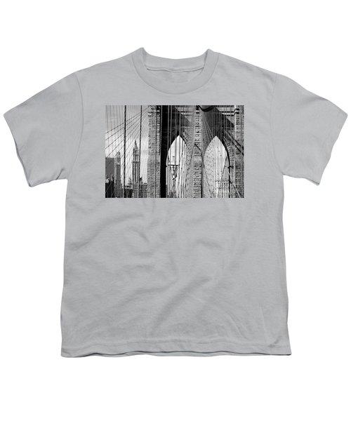 Brooklyn Bridge New York City Usa Youth T-Shirt