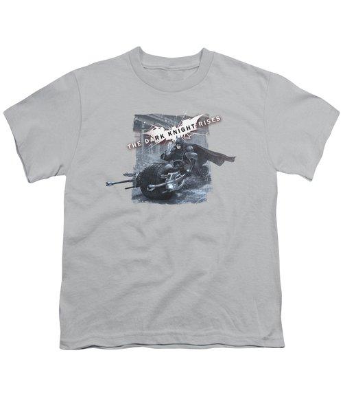 Dark Knight Rises - Batpod Breakout Youth T-Shirt