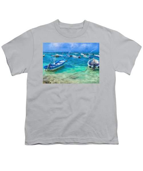 Fishing Boats Youth T-Shirt
