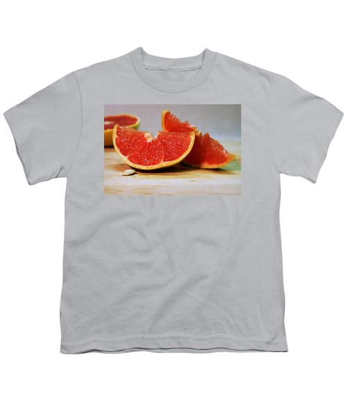Grapefruit Slices Youth T-Shirt by Joseph Skompski