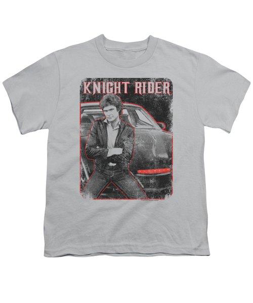 Knight Rider - Knight And Kitt Youth T-Shirt