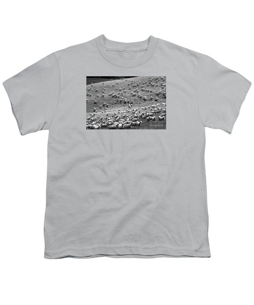Youth T-Shirt featuring the photograph Moving Hillside by Nareeta Martin