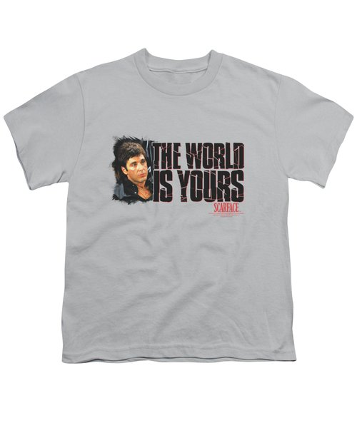 Scarface - The World Is Yours Youth T-Shirt