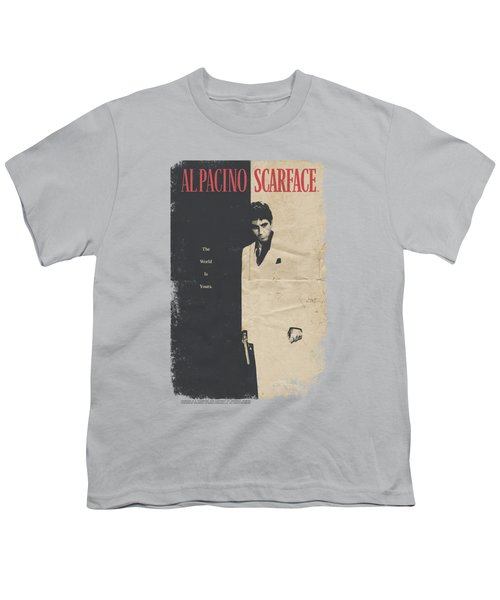Scarface - Vintage Poster Youth T-Shirt