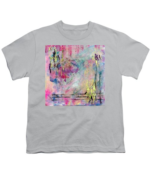 Serene Mist Encaustic Youth T-Shirt