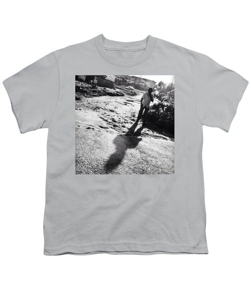 Some Men Leave Long Shadows, Nigeria Youth T-Shirt