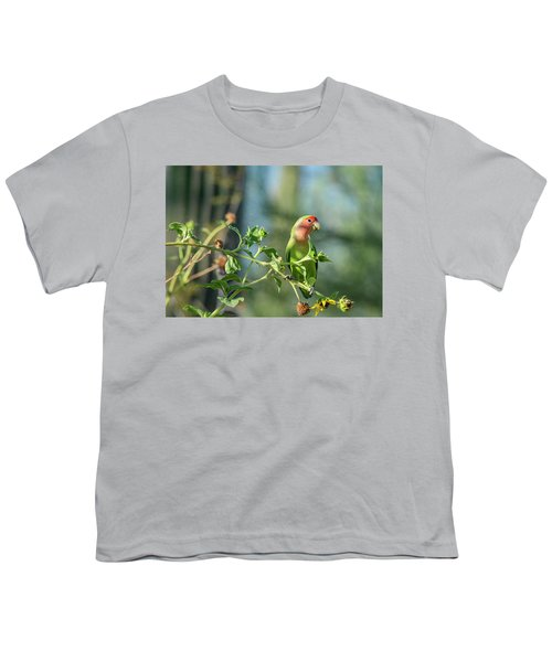Lovely Little Lovebird  Youth T-Shirt
