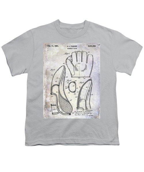 1941 Baseball Glove Patent Youth T-Shirt