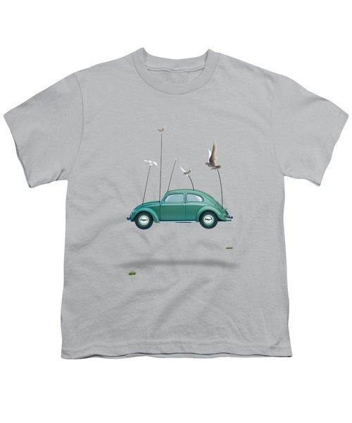 Cars  Youth T-Shirt by Mark Ashkenazi
