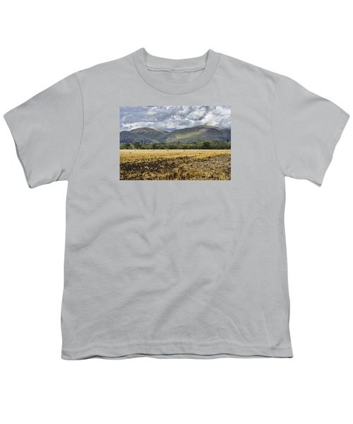 Ochil Hills Youth T-Shirt by Jeremy Lavender Photography