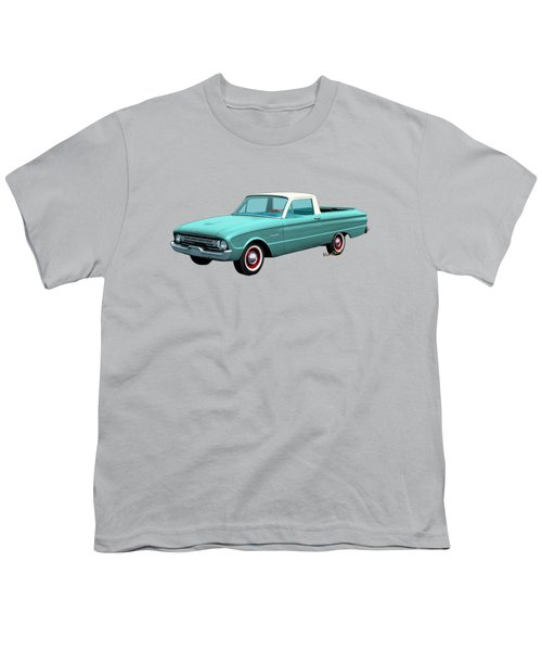 2nd Generation Falcon Ranchero 1960 Youth T-Shirt by Chas Sinklier