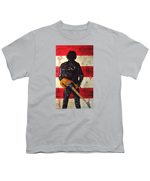 Bruce Springsteen Youth T-Shirt by Francesca Agostini