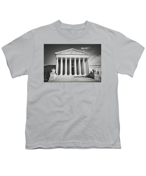 Supreme Court Building Youth T-Shirt