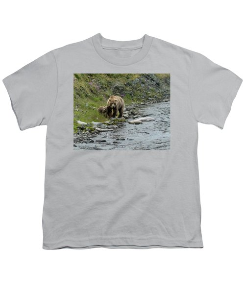 A Walk Along The Creek Youth T-Shirt