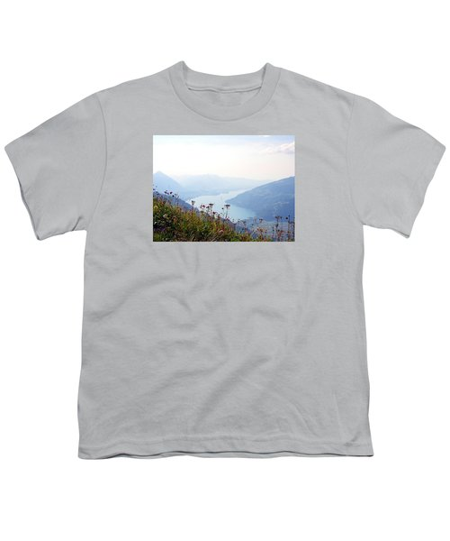 Alpine Flora On Top Of Schynige Platte Youth T-Shirt