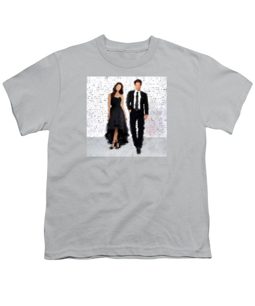 Youth T-Shirt featuring the digital art Antonia And Giovanni by Nancy Levan