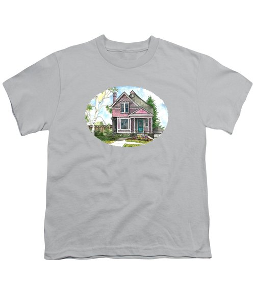 The Violet Lady In Spring Youth T-Shirt