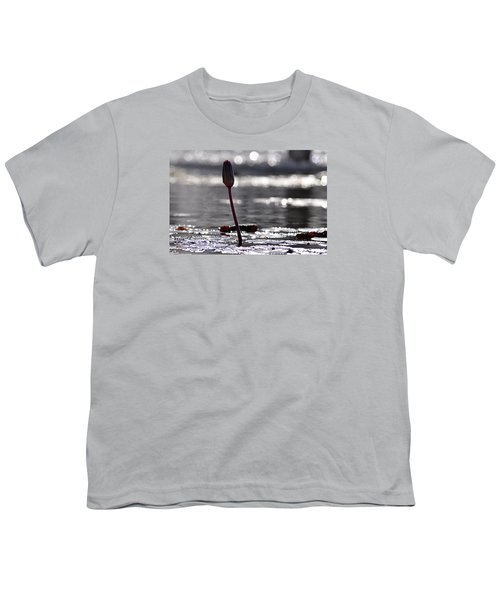 Youth T-Shirt featuring the photograph At Rabin Square, Tel Aviv by Dubi Roman