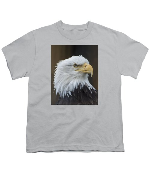 Bald Eagle Portrait Youth T-Shirt