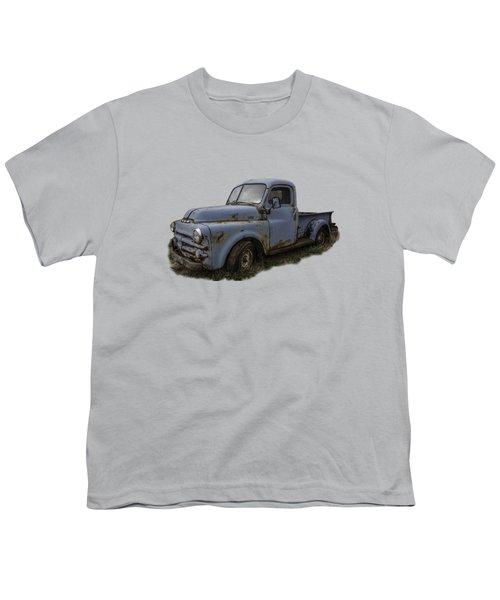 Big Blue Dodge Alone Youth T-Shirt