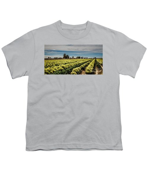 Broccoli Seed Youth T-Shirt by Robert Bales
