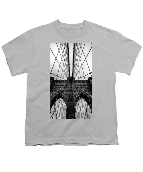 Brooklyn's Web Youth T-Shirt by Az Jackson