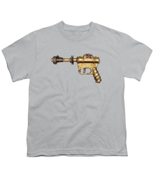 Buck Rogers Ray Gun Youth T-Shirt by YoPedro