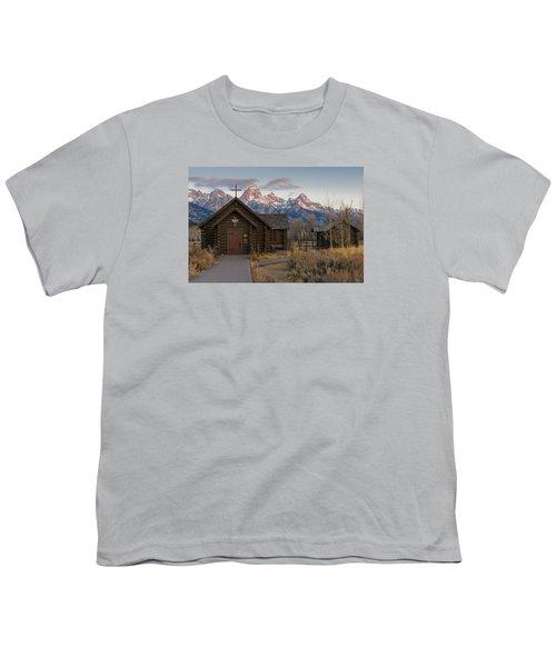 Chapel Of The Transfiguration - II Youth T-Shirt by Gary Lengyel