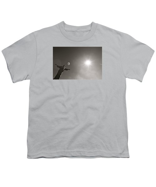 Christ The Redeemer Youth T-Shirt by Mark Nowoslawski