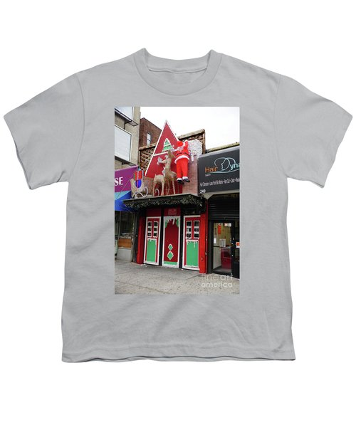 Christmas On Sherman Avenue  Youth T-Shirt by Cole Thompson