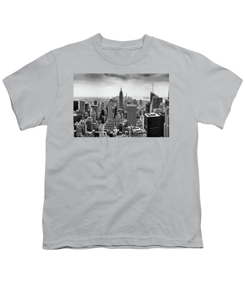 Classic New York  Youth T-Shirt by Az Jackson