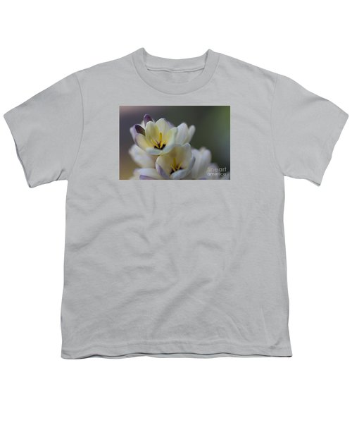 Close-up Of White Freesia Youth T-Shirt