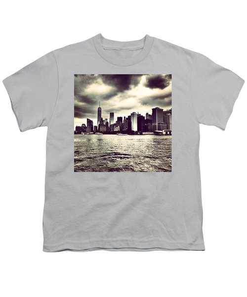Cloudy Day In #nyc Youth T-Shirt