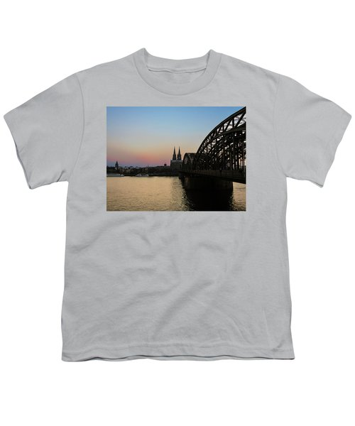 Cologne - Germany Youth T-Shirt by Cesar Vieira