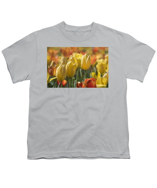 Coming Up Tulips Youth T-Shirt