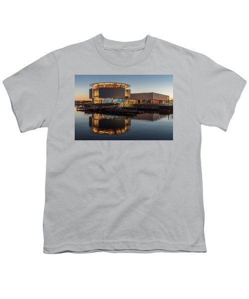Youth T-Shirt featuring the photograph Discovery World by Randy Scherkenbach