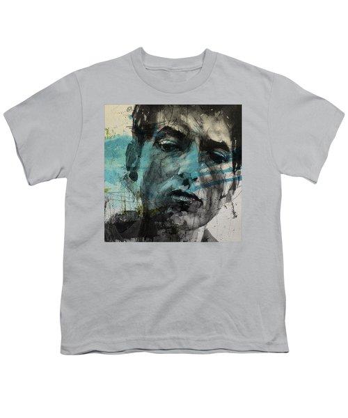 Dylan - Retro  Maggies Farm No More Youth T-Shirt
