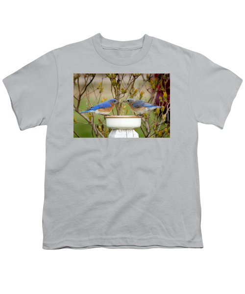 Early Bird Breakfast For Two Youth T-Shirt by Bill Pevlor