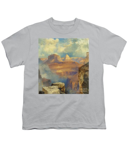Grand Canyon Youth T-Shirt by Thomas Moran