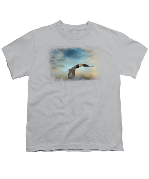 Grass Before The Storm Youth T-Shirt by Jai Johnson