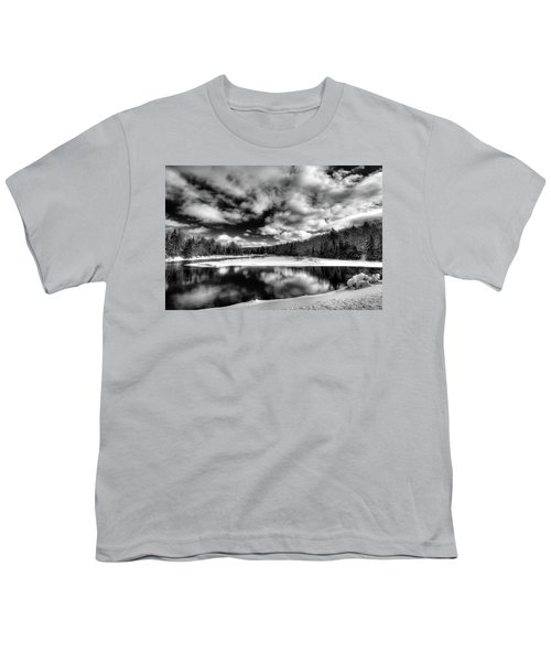 Youth T-Shirt featuring the photograph Green Bridge Solitude by David Patterson