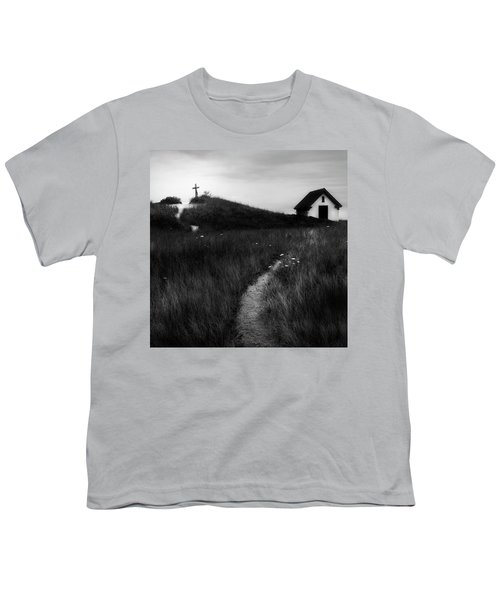 Youth T-Shirt featuring the photograph Guiding Light Square by Bill Wakeley