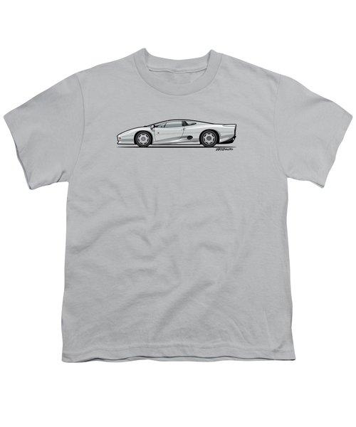 Jag Xj220 Spa Silver Youth T-Shirt