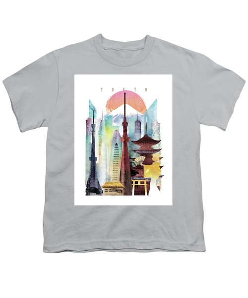 Japan Tokyo Youth T-Shirt by Unique Drawing