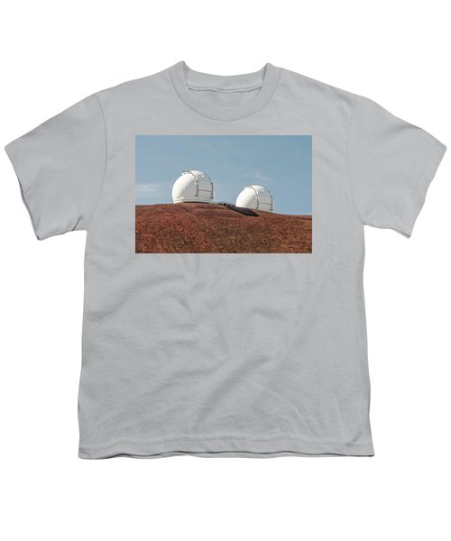 Youth T-Shirt featuring the photograph Keck 1 And Keck 2 by Jim Thompson