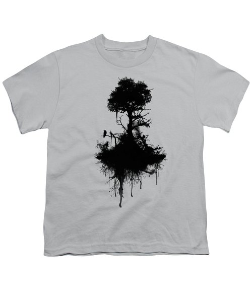 Last Tree Standing Youth T-Shirt by Nicklas Gustafsson