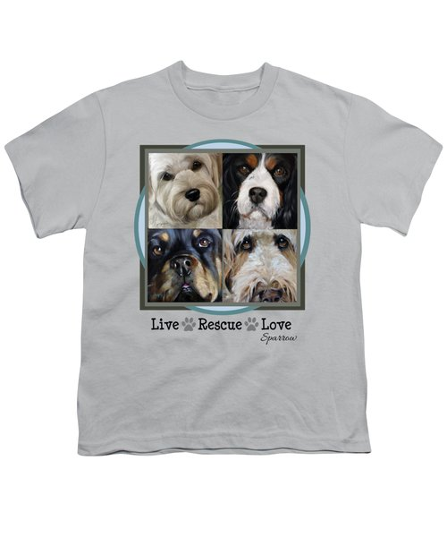 Live Rescue Love Youth T-Shirt