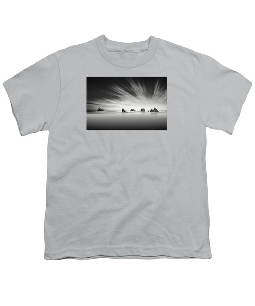 Lunar Beacon Fine Art Youth T-Shirt