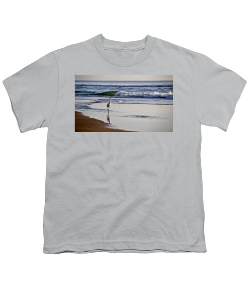 Morning Walk At Ormond Beach Youth T-Shirt