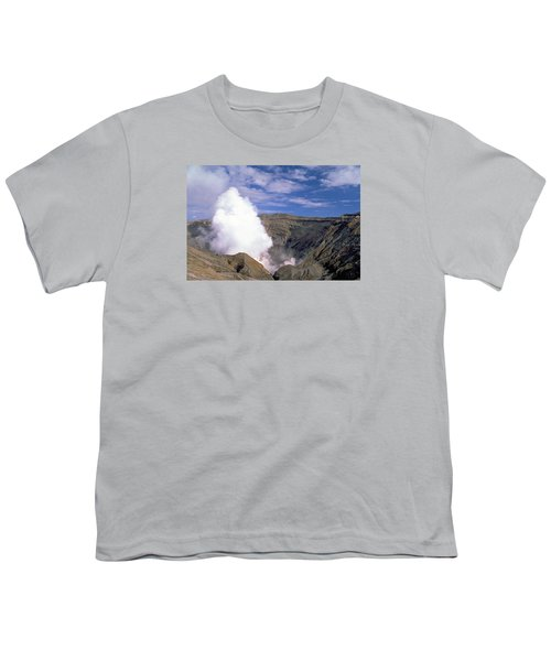 Youth T-Shirt featuring the photograph Mount Aso by Travel Pics